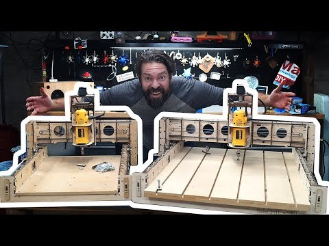 Ever Heard of A CNC Router, Made of Wood? - UChtY6O8Ahw2cz05PS2GhUbg