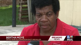 Woman says victim of fatal shooting in York is her 6-year-old grandson
