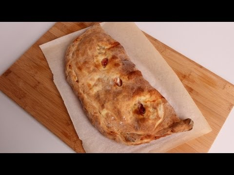 Homemade Calzone Recipe - Laura Vitale - Laura in the Kitchen Episode 351 - UCNbngWUqL2eqRw12yAwcICg