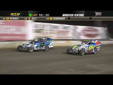 Lebanon Valley Speedway | Modified Feature Highlights | 7/24/21 - dirt track racing video image