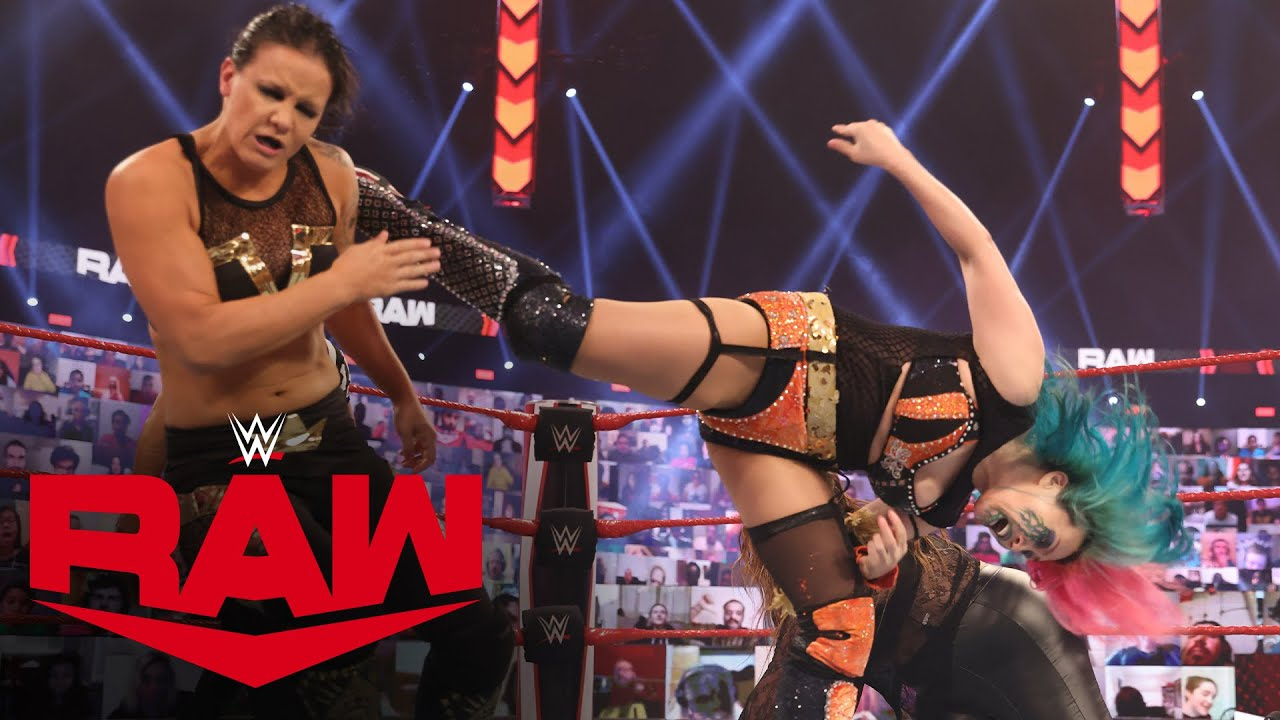Asuka vs. Shayna Baszler: Raw, Mar. 15, 2021