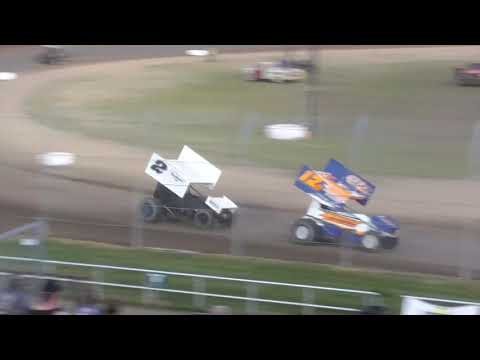 Grays Harbor Raceway ASCS National Tour 360 Sprints Fred Brownfield Classic Night #2 June 20th, 2021 - dirt track racing video image
