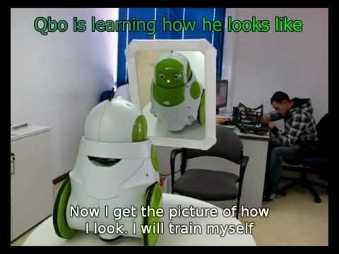 QBO Robot in front of a mirror ( UPDATED ) - UCBQXfcPkx1B4AaYHRHfcqpQ