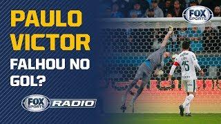 PAULO VICTOR FALHOU NO GOL DO PALMEIRAS? A equipe do FOX Sports Rádio debateu