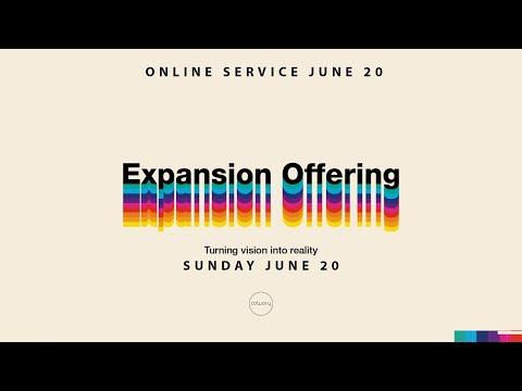 EXPANSION OFFERING - Online Service - June 20