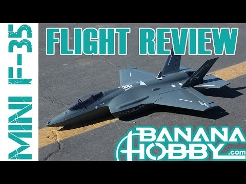 Mini F-35 BlitzRCWorks | Flight Review | EDF Fighter Jet - UCUrw_KqIT1ZYAeRXFQLDDyQ