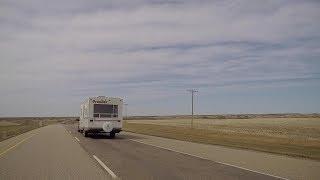 Driving to North Battleford Saskatchewan Canada. Highway #16. Tour of the Prairies.