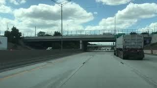 Driving to Warren, Michigan from Saint Clair Shores, Michigan
