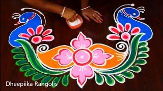 Happy New Year New Rangoli 90