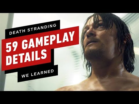 Death Stranding: 59 Gameplay Details We Learned From TGS 2019 - UCKy1dAqELo0zrOtPkf0eTMw