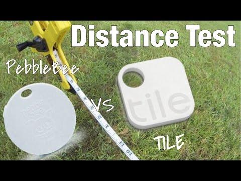 TILE vs. PEBBLEBEE - OUTDOOR DISTANCE TEST - UC7HgtDweBhkleTOjNo_w8sQ
