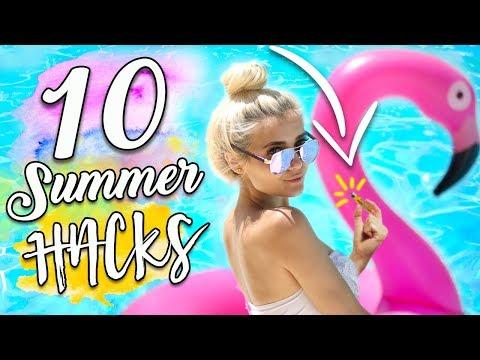 10 Summer Life HACKS Everyone SHOULD Know! - UCBKFH7bU2ebvO68FtuGjyyw
