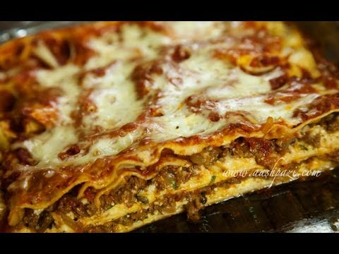 Lasagna (Beef & Mushroom) Recipe - UCZXjjS1THo5eei9P_Y2iyKA