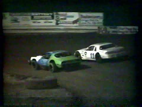 Hidden Valley Speedway August 14th, 1993 Super Stock King of the Hill - dirt track racing video image