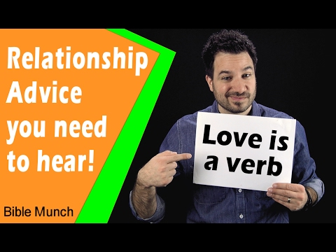 Relationship Advice  What Does Love Mean  What is the Definition of Love  1 Corinthians 13