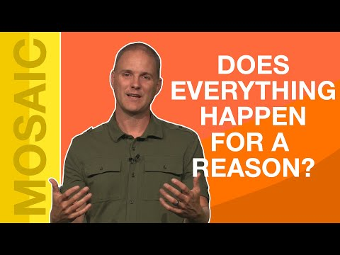 EVERYTHING HAPPENS FOR A REASON  DUMB STUFF CHRISTIANS SAY