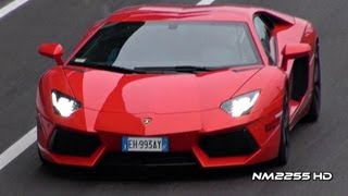 Lamborghini Aventador LP700 Full Throttle Acceleration!