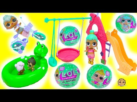 LOL Surprise Series 2 Lil Sisters Baby Dolls Blind Bag , Cry, Color Change At Playground - UCelMeixAOTs2OQAAi9wU8-g