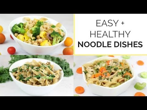 3 Easy Healthy Noodle Recipes with No Yolks Noodles | Family Friendly Meal Ideas - UCj0V0aG4LcdHmdPJ7aTtSCQ