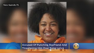 Police: Girlfriend Punches, Threatens Boyfriend With Box Cutter Over Song Lyrics