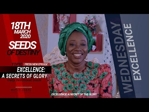 Dr Becky Paul-Enenche - SEEDS OF DESTINY  WEDNESDAY, 18 MARCH, 2020
