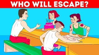 🤔 TRICKY ESCAPE RIDDLES AND OPTICAL ILLUSIONS 😳