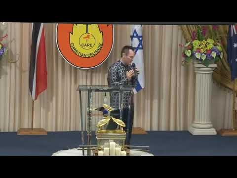 POURED OUT LIKE A WILDFIRE - DAY 1 REVIVAL TRINIDAD - REV ROBERT CLANCY