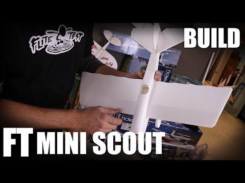 Flite Test | FT Mini Scout - BUILD (Mighty Minis) - UC9zTuyWffK9ckEz1216noAw