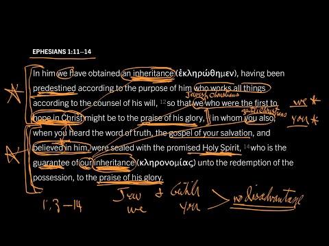 Ephesians 1:1114 // Part 5 // Hostile Enemies Made One in Christ