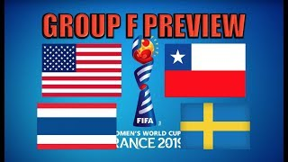 2019 Women's World Cup Preview: Group F