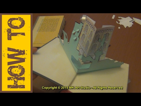 How to Make Pop-up Book - UC1lPgI6gWxLD94pwf9Q9YYQ