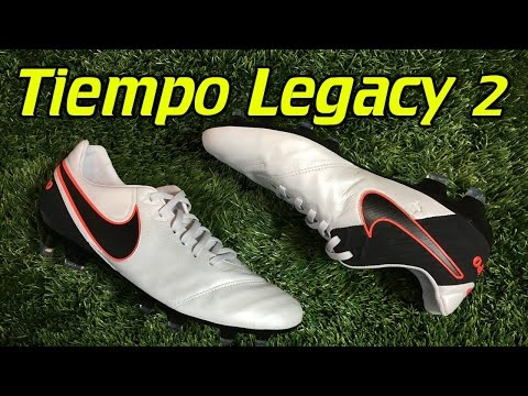 Nike Tiempo Legacy 2 Pure Platinum/Hyper Orange - Review + On Feet - UCUU3lMXc6iDrQw4eZen8COQ