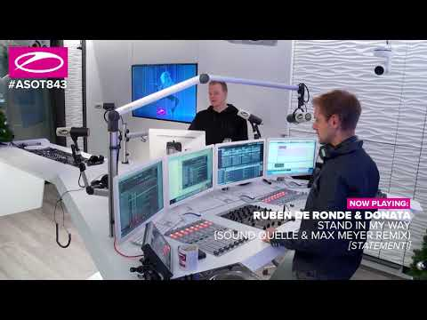 Ruben de Ronde & Donata - Stand in my way (Sound Quelle & Max Meyer Remix) [#ASOT843] - UCalCDSmZAYD73tqVZ4l8yJg