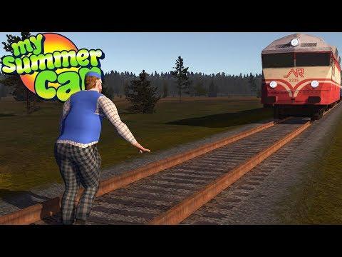My Summer Car - TEIMO MEETS THE TRAIN - VidVui