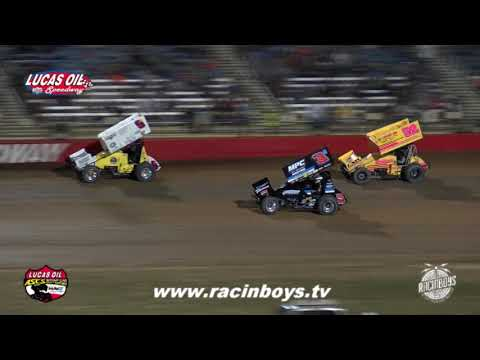 Lucas Oil ASCS Saturday Highlights Hockett McMillin Memorial 9 18 21 - dirt track racing video image