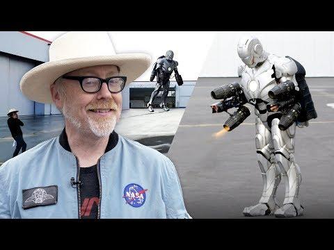 How Adam Savage built a real Iron Man suit that flies - UCOmcA3f_RrH6b9NmcNa4tdg