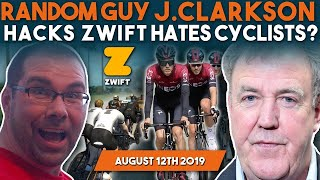 Jeremy Clarkson Explains His Hatred For Cyclists! Hacker Shows How To Exploit Racing On Zwift!