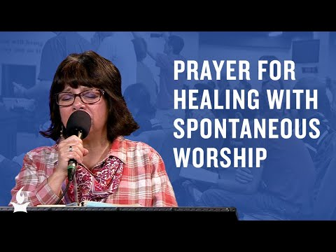 Prayer for Healing with Spontaneous Worship  Caleb Edwards & Team