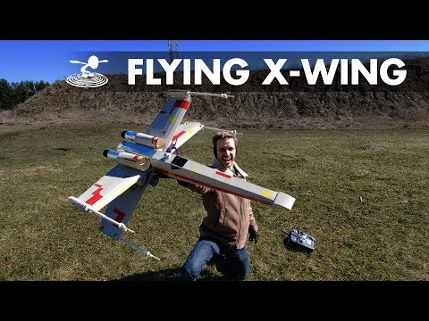 We're going to try to not crash this... - Real flying X-wing - UC9zTuyWffK9ckEz1216noAw