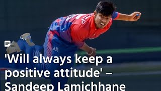 The Nepal Shane Warne…? NEPAL Thanks from Sandeep Lamichhane (in Nepalese)