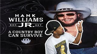 [ REACTION ] Hank Williams Jr - Country Boy Can Survive & Dinosaur‼ He's Incredible‼