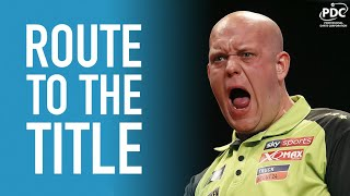 Michael van Gerwen | Route to the Title | 2019 Melbourne Darts Masters