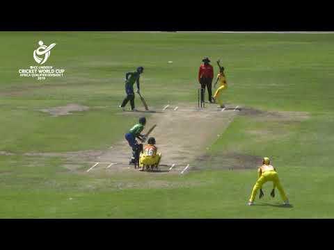 ICC U19 Cricket World Cup Africa Qualifier: Uganda v Sierra Leone highlights