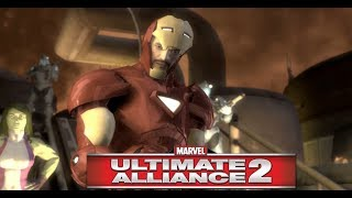 Iron Man Fails to Trap Captain America & Anti Reg Forces - Marvel Ultimate Alliance 2 Civil War