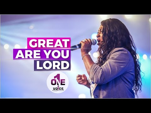 Great are you Lord - i will bless the Lord  One Voice