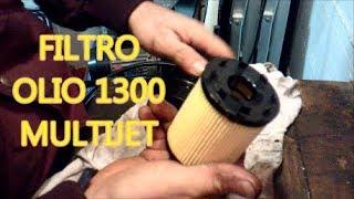 Sostituzione filtro olio Fiat IDEA 1.3 Multijet