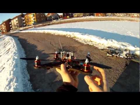 Ecks Quad frame - Test flight 2, with crashes! (Uncut) - UC9MIEuZU3SiDuT7w5wyCwIQ