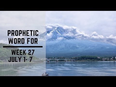 Weekly Word 1 July 2019