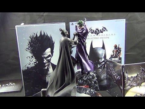 Batman Arkham Origins Collectors Edition, Unboxing and