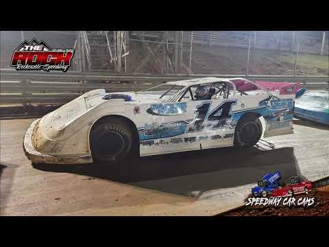 #14 Logan Walls - Crate Late Model - 10-16-21 Rockcastle Speedway - InCar Camera - dirt track racing video image